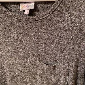 LuLaRoe Dark Gray Carly Dress - XS